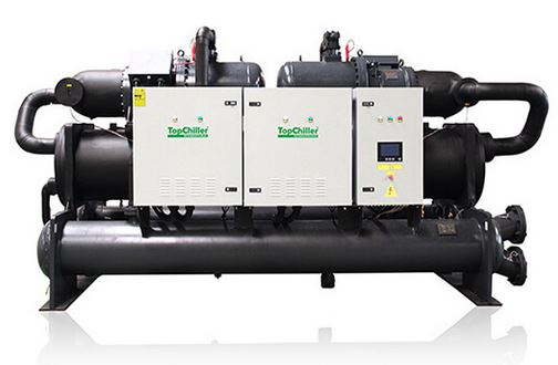 Water-cooled water chiller