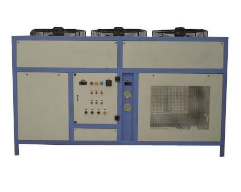 Hydraulic oil chiller system
