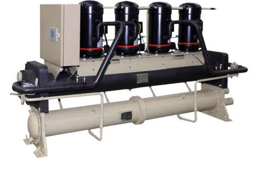 Water cooling scroll chiller