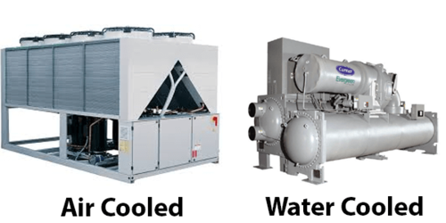 Air-cooled-chiller-vs-water-cooled-chiller